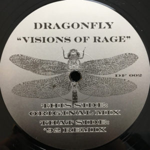 Dragonfly - Visions Of Rage - DF002 - MUSIC PRESERVATION SOCIETY