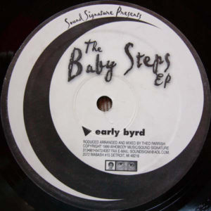 Theo Parrish - Baby Steps - ELV001 - SOUND SIGNATURE
