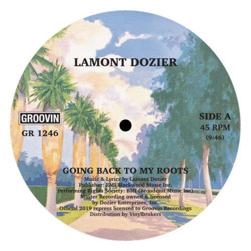 Lamont Dozier - Going Back To My Roots - GR-1246 - GROOVIN RECORDINGS