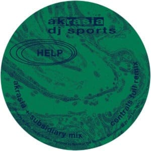 DJ Sports - Akrasia - HELP013 - HELP RECORDINGS