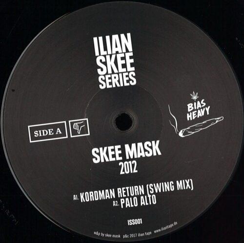 Skee Mask - 2012 - ISS001 - ILIAN SKEE SERIES