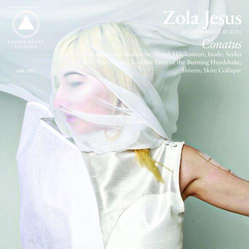Zola Jesus - Conatus (Ltd Gray & Clear Smoke vin - SBR062LP-C1 - SACRED BONES