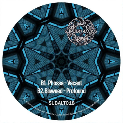 Dalek One/Clearlight/Phossa/Bisweed - Kaleidoscope Vol.2 - SUBALT018 - SUBALTERN