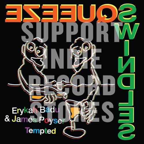 Erykah Badu/James Poyser - Tempted - 0634457257078 - YEP ROC