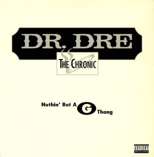 Dr.Dre - Nuthin' But A G Thang - 0728706310710 - SPV