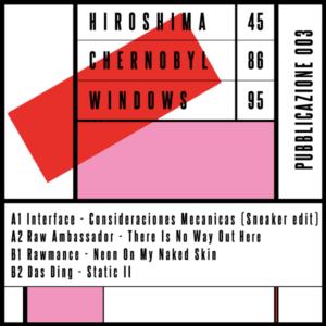 Various - Pubblicazione 003 - 458695-003 - HIROSHIMA 45 CHERNOBYL 86 WINDOWS 95