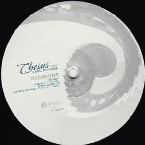 Chesus aka Earl Jeffers - Decisions - 4LUX013-07 - 4 LUX