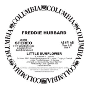 Freddie Hubbard - Little Sunflower - AS671AB - COLUMBIA