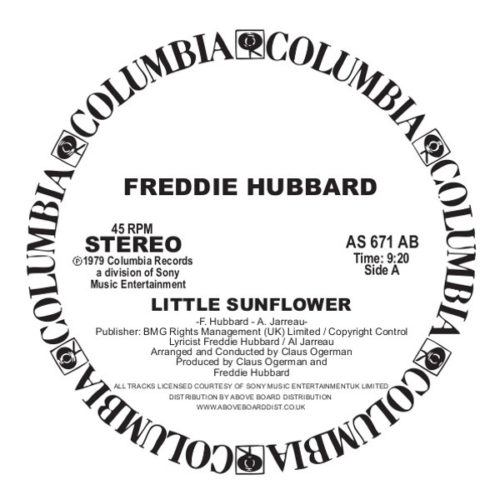 Freddie Hubbard - Little Sunflower - AS671AB - COLUMBIA