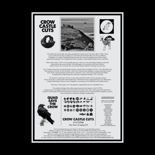 Various - The Dewi Fondop EP - CCUFO4 - CROW CASTLE CUTS