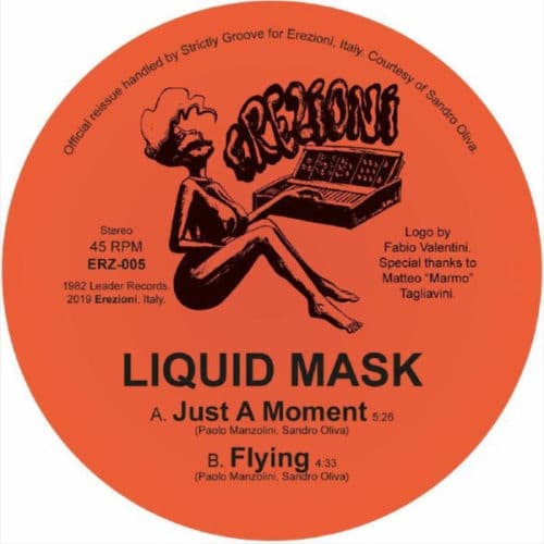Liquid Mask - Just A Moment - ERZ005 - EREZIONI