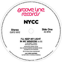 NYCC - I'll Keep My Light In My Window / Express Yourself - GLR120012 - GROOVE LINE RECORDS