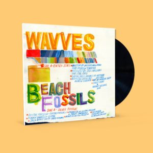 Wavves/Beach Fossils - Enter Still/Silver Tongue - GR50 - GHOST RAMP