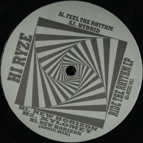Hi Ryze - Ride The Rhythm EP - HIRYZE001BLACK - HI-RYZE