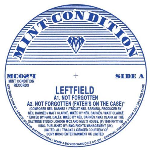 Leftfield - Not Forgotten - MC024 - MINT CONDITION