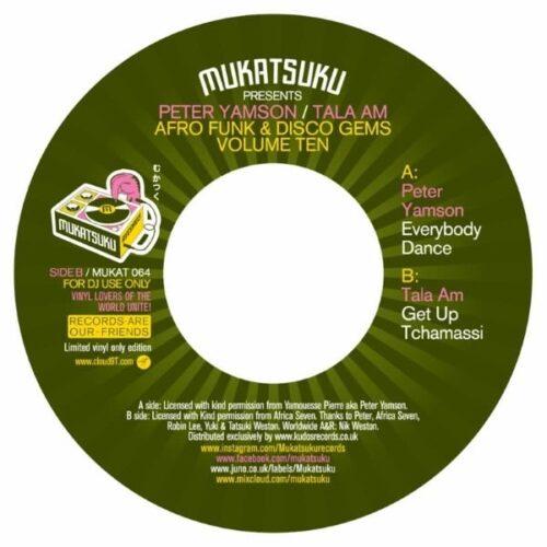 Peter Yamson / Tala A.M. - Afro Funk & Disco Gems Vol.10 - MUKAT064 - MUKATSUKU