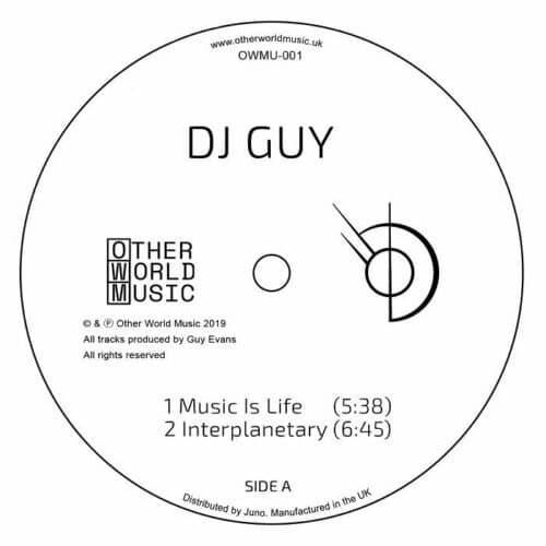 DJ Guy - OWMU001 - OWMU001 - OTHER WORLD MUSIC