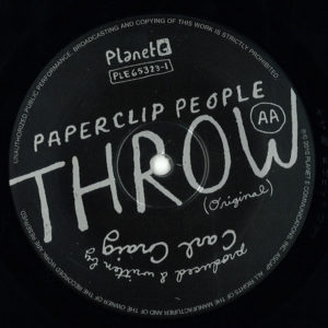 Paperclip People/LCD Soundsystem - Throw - PLE65323-1 - PLANET E