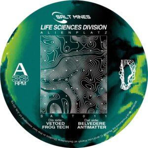 Life Sciences Division - Alienplatz EP - SALT011 - SALT MINES