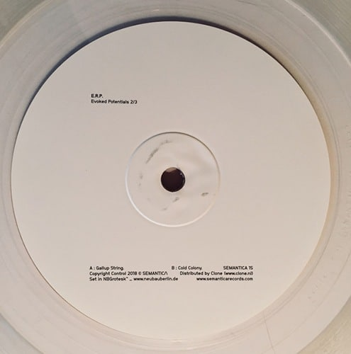 E.R.P. - Evoked Potentials 2/3 - SEMANTICA-15 - SEMANTICA RECORDS