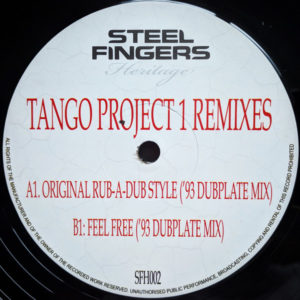 Tango - Tango Project 1 Remixes - SFH002 - STEEL FINGERS HERITAGE