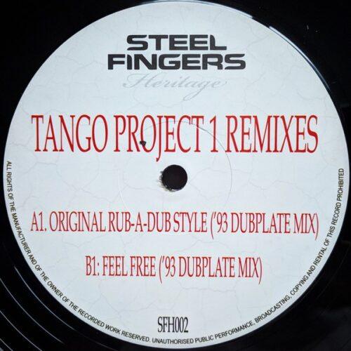 Tango - Tango Project 1 Remixes - SFH002 - STEEL FINGERS HERITAGE