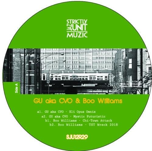 Glenn Underground/Boo Williams - GU & Boo Project - SJU12R29 - STRICTLY JAZZ UNIT MUZIC