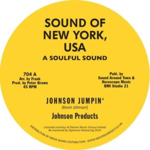 Johnson Products/Willie Wood - Johnson Jumpin'/ Willie Rap - 704 - SOUND OF NEW YORK