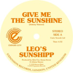 Leo's Sunshipp - Give Me The Sunshine/I'm Back For More - EXPAND117Y - EXPANSION