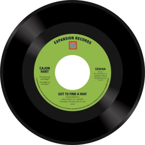 Cajun Hart - Got To Find A Way/Lover's Prayer - EXS016 - EXPANSION