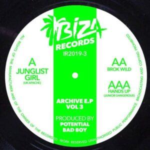 Potential Badboy - Archives Vol.3 - IR2019-3 - IBIZA RECORDS