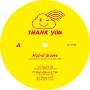 Madrid Groove - Arsa - THANKYOU003 - THANK YOU