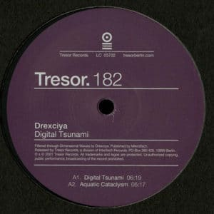 Drexciya - Digital Tsunami - TRESOR182 - TRESOR