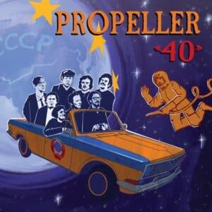 Propeller - 40 - VV009 - VAIGUVIIUL