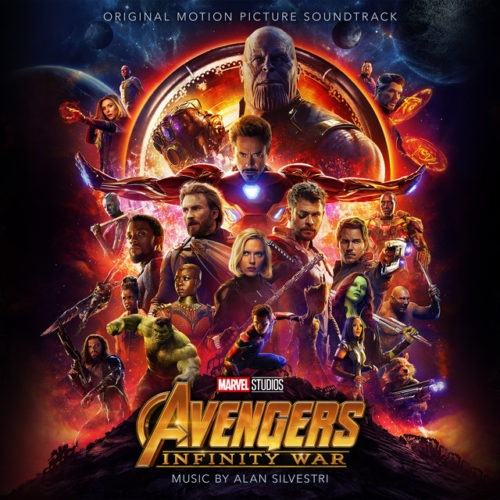 Soundtrack - Avengers Infinity War - 50087397982 - HOLLYWOOD RECORDS
