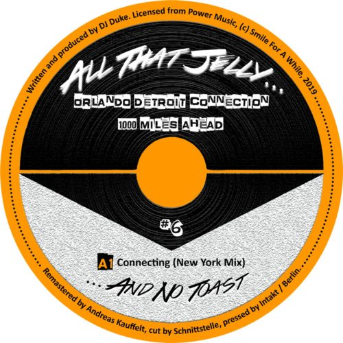 Orlando Detroit Connection - 1000 Miles Head - ATJ005 - ALL THE JELLY