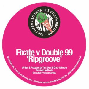 Fixate/Double99 - Ripgroove - FLAKE045 - ICE CREAM