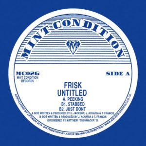 Frisk - Untitled - MC026 - MINT CONDITION