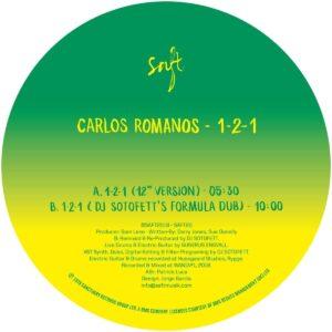 Carlos Romano/DJ Sotofett - 1-2-1 - SAFT20 - SAFT