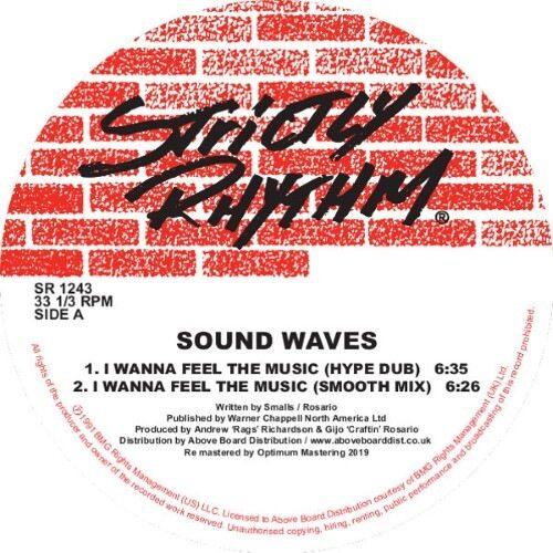 Sound Waves - I Wanna Feel The Music/ - SR1243 - STRICTLY RHYTHM