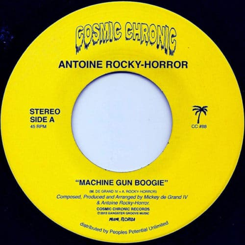 Antoine Rocky-Horror - Machine Gun Boogie - CC88 - COSMIC CHRONIC
