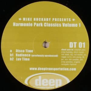 Mike Huckaby - Harmonie Park Classics Vol. 1 - DET01 - DEEP TRANSPORTATION
