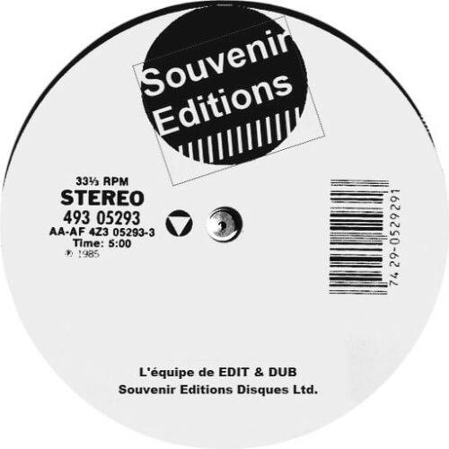 Edit & Dub - 10 Dubplate Action - EDITDUB10 - EDITDUB