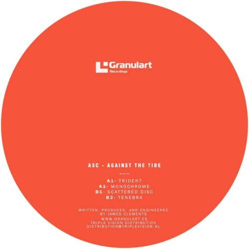 ASC - Against The Grain - GR015 - GRANULART RECORDINGS