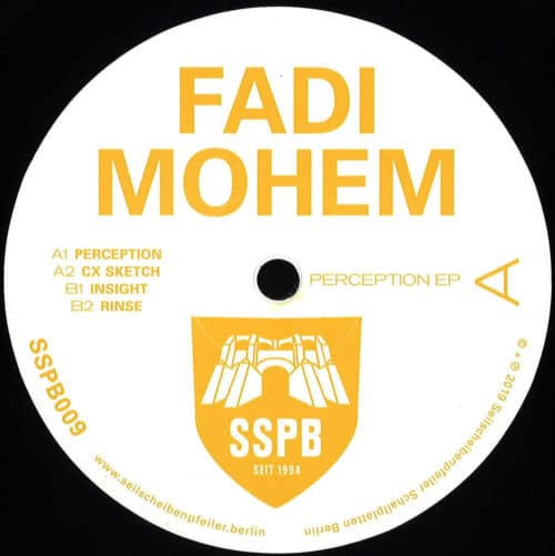 Fadi Mohem - Perception - SSPB009 - SEILSCHEIBENPFEILER