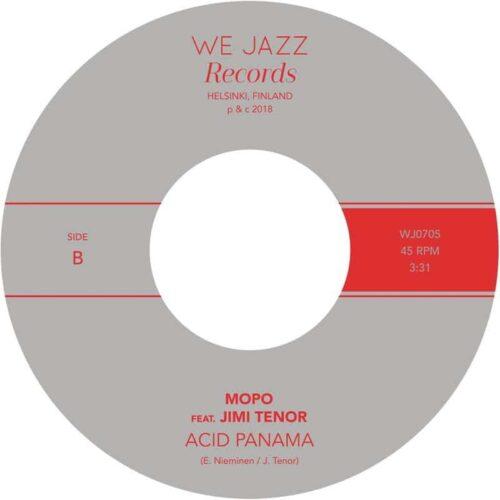 Mopo/Jimi Tenor - Riisto/Acid Panama - WJ0705 - WE JAZZ