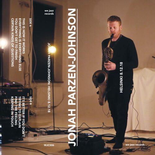 Johan-Parzen Johnson - Helsinki 8.12.18 - WJCS06 - WE JAZZ
