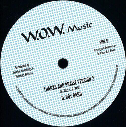 Junior Reid - Thanks & Praise / Version - AR12026 - ARCHIVE RECORDINGS