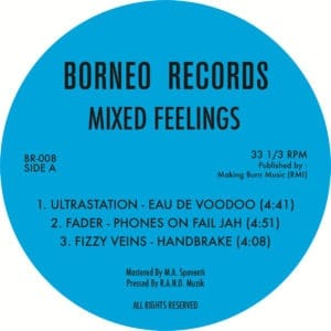 Various - Mixed Feelings - BORNEO008 - BORNEO RECORDS