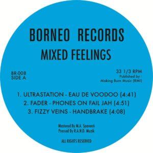 Various - Mixed Feelings - BORNEO008 - BORNEO RECORDS